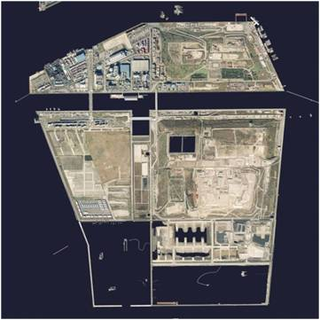 Exterior of Tokyo Port, Central Breakwater Site (No. 1)