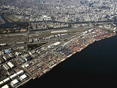 One of the world's largest container terminals