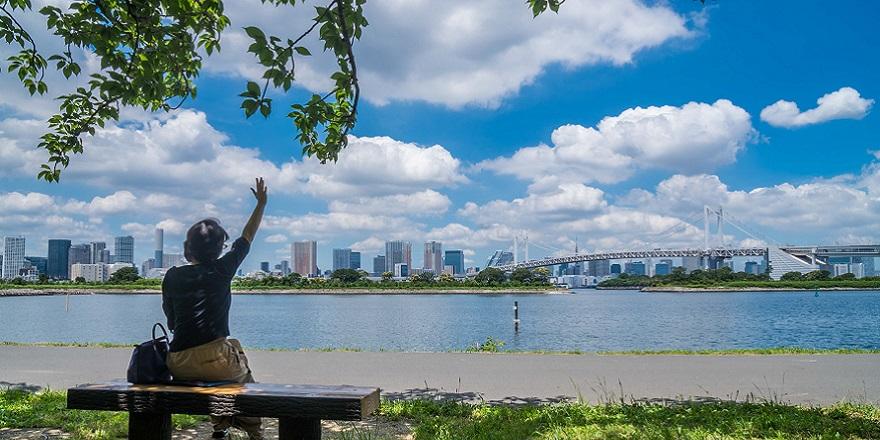 台場 海浜 公園 お